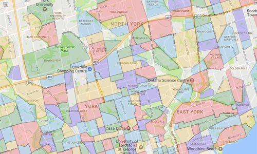 Toronto Neighbourhood Map